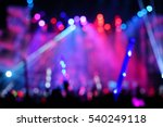 defocused entertainment concert ... | Shutterstock . vector #540249118
