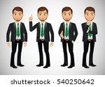 elegant people businessman   Shutterstock .eps vector #540250642