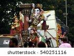hyderabad india september 19... | Shutterstock . vector #540251116