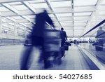passenger in the airport | Shutterstock . vector #54027685
