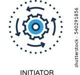 initiator vector icon   Shutterstock .eps vector #540291856