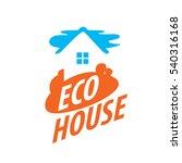 vector logo house | Shutterstock .eps vector #540316168