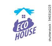 vector logo house | Shutterstock .eps vector #540316225