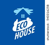 vector logo house | Shutterstock .eps vector #540316258