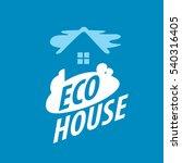 vector logo house | Shutterstock .eps vector #540316405