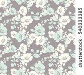 Stock vector trendy floral pattern in vector 540333385