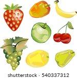 strawberry  mango  bannana ...