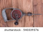 Small photo of wimble, vintage hand drill