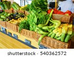 grocery store or supermarket  | Shutterstock . vector #540362572