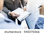 two young businessmen... | Shutterstock . vector #540370366