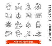 Medieval Fairy Tales. Thin Lin...