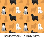 dog wallpaper 36 | Shutterstock .eps vector #540377896