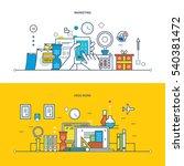 concept of illustration  ... | Shutterstock .eps vector #540381472