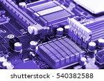 computer motherboard | Shutterstock . vector #540382588