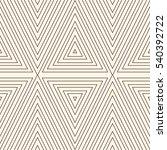 outline ethnic and tribal... | Shutterstock .eps vector #540392722