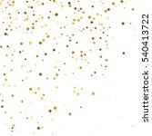 gold glitter texture isolated... | Shutterstock .eps vector #540413722