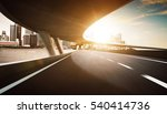 highway and bridge overpass... | Shutterstock . vector #540414736