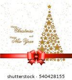 christmas tree from beautiful... | Shutterstock .eps vector #540428155