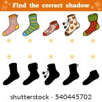 find the correct shadow ...   Shutterstock .eps vector #540445702