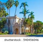 casa del prado in balboa park ... | Shutterstock . vector #540456046