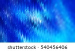 abstract background. blue shiny ... | Shutterstock . vector #540456406
