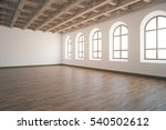 side view of unfurnished... | Shutterstock . vector #540502612