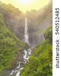 famous japanese 100 meter tall... | Shutterstock . vector #540512485