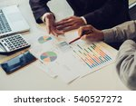 team works. young businessmans...   Shutterstock . vector #540527272