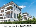 modern multi family houses seen ... | Shutterstock . vector #540537076
