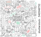 finance and business vector... | Shutterstock .eps vector #540548752