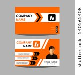 layout design template id card... | Shutterstock .eps vector #540565408