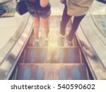 blurred image lover going down... | Shutterstock . vector #540590602