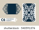 layout congratulatory envelope...   Shutterstock .eps vector #540591376