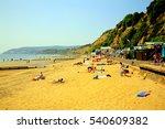 sandown  isle of wight  uk.... | Shutterstock . vector #540609382