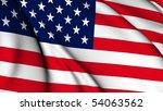 usa flag collection | Shutterstock . vector #54063562