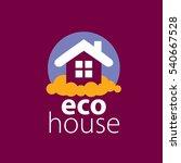 vector logo house | Shutterstock .eps vector #540667528