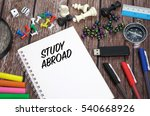 study abroad | Shutterstock . vector #540668926
