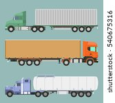 vector illustration of a set of ... | Shutterstock .eps vector #540675316