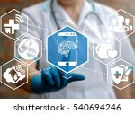 health care medicine automation ... | Shutterstock . vector #540694246