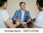 hiring employee | Shutterstock . vector #540713746