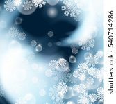 winter background with... | Shutterstock .eps vector #540714286