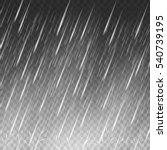 rain vector background. falling ... | Shutterstock .eps vector #540739195