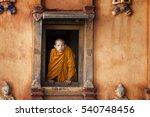 dramatic moment of a little boy ... | Shutterstock . vector #540748456