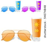 Sunglasses And Sunscreen  ...