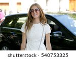paris july 6  2015. famous... | Shutterstock . vector #540753325