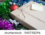 christmas or new year presents... | Shutterstock . vector #540758296
