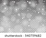 winter with snow in transparent ... | Shutterstock .eps vector #540759682