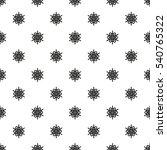 snowflake pattern. white... | Shutterstock . vector #540765322