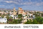 The Panorama Of Paphos With...
