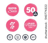 super sale and black friday... | Shutterstock .eps vector #540774322